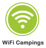 Logo Wifi campings